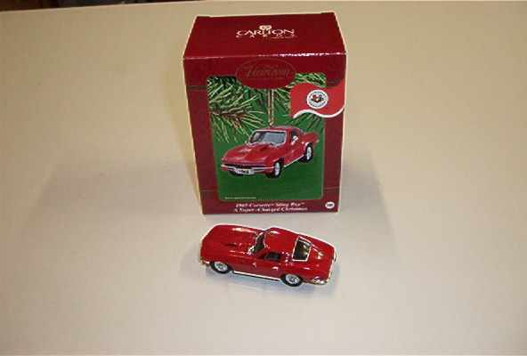 Collector Car Holiday Ornaments